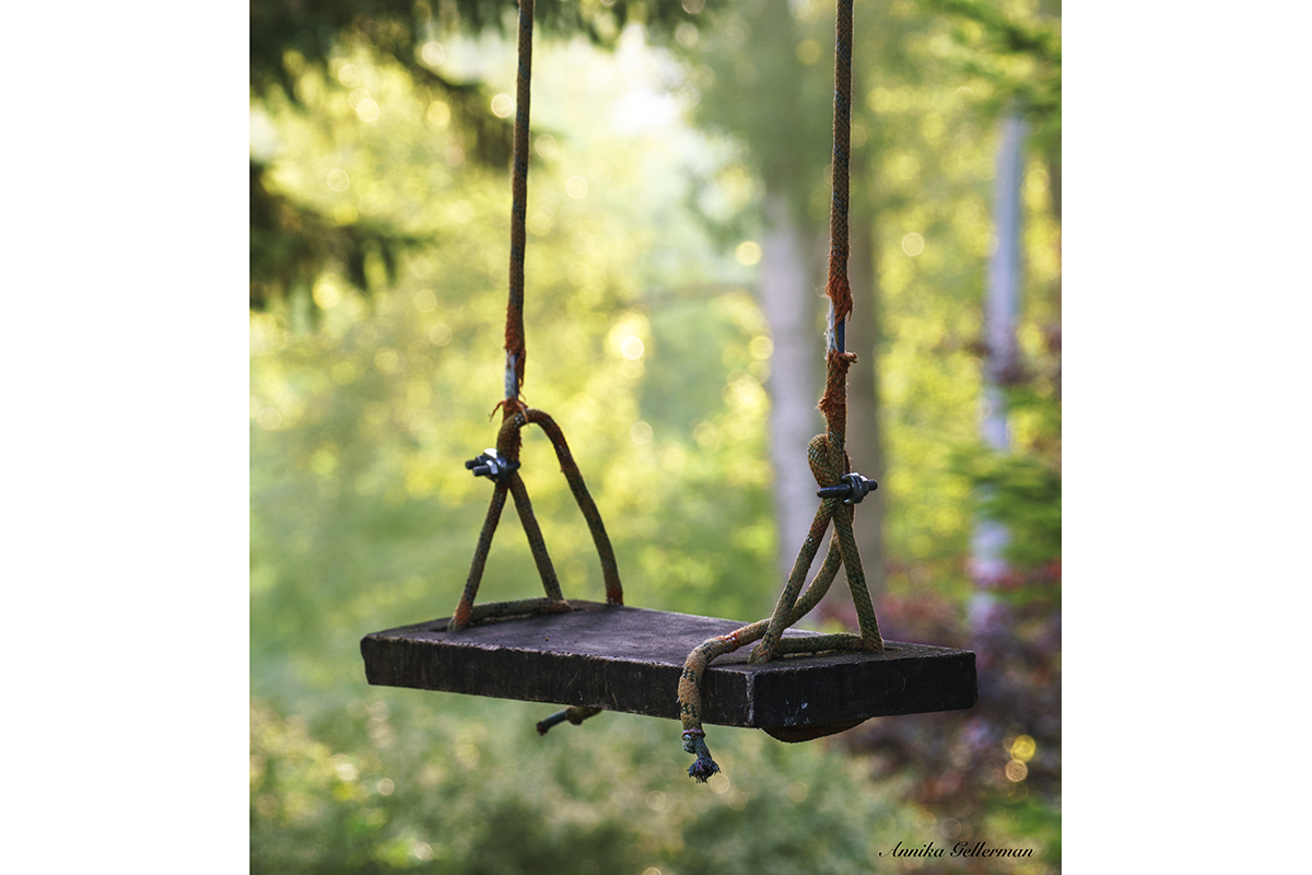 Waiting for a swing